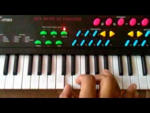 Happy Birthday on Beginners Keyboard/Piano Tutorial