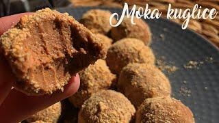 Moka kuglice sa plazmom i nutelom - Brzi kolaci - Mocha truffles - CooKing Recepti
