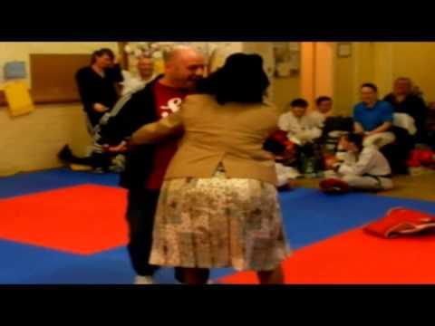 Funny Video: Patty Dumplin Visits Nottingham Taekwondo Club British Heart Foundation
