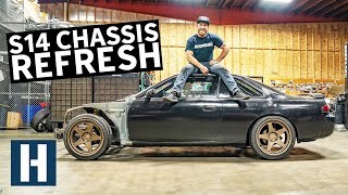 Download Overhauling Dan's Thrashed S14 Chassis Mp3 and Videos