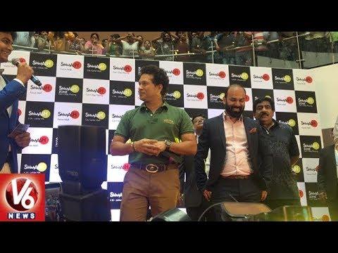 Sachin Tendulkar Launches Smaaash Gaming Zone At Forum Mall, Kukatpally | Hyderabad | V6 News