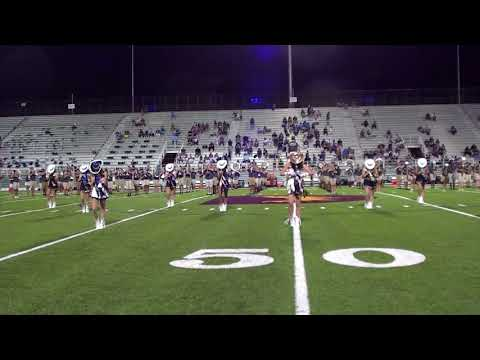 """LEHS Blue Angels Halftime Performance 1st Game 2017 """"Green Onions"""""""