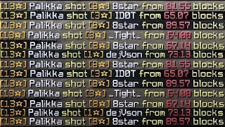 I tried using Bow Aimbot in Minecraft