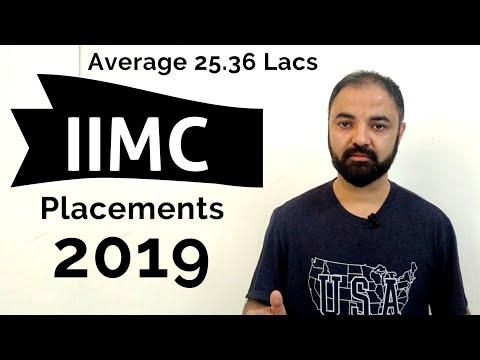 IIM Calcutta 2019 placements. Very motivating.