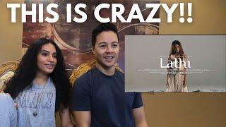 WEIRD GENIUS - LATHI (ft. SARA FAJIRA) [Couple Reacts]