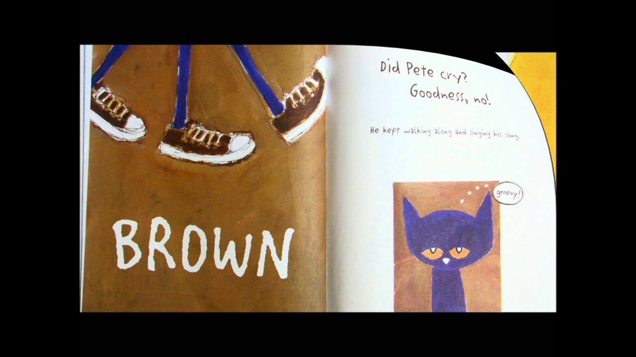 Pete The Cat I Love My White Shoes Mud