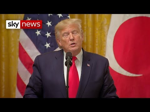 Sky News: Impeachment inquiry: Donald Trump 'overheard asking about investigations'