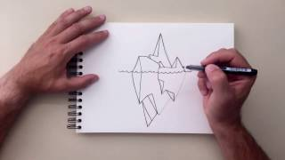 How to Draw - Iceberg