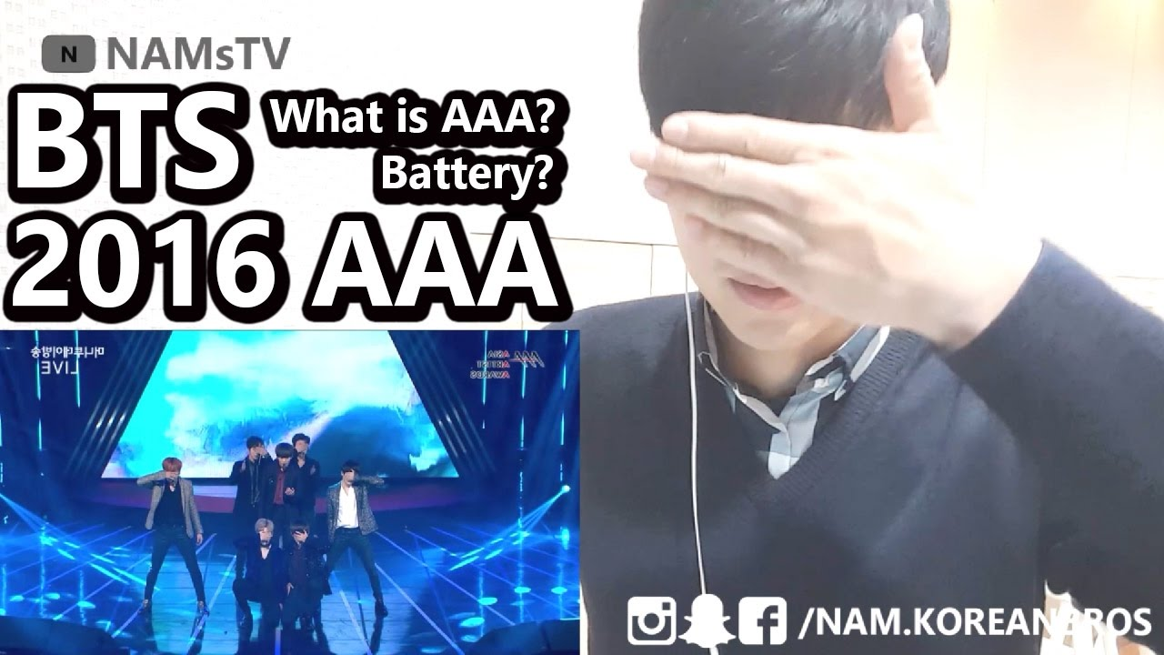 BTS AAA Reaction - Korean reacts to BTS  [Non Kpop fan] NAMsTV