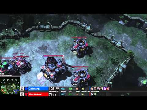 "I Glitch - Starcraft Replay#10 (TvZ) ""Austrian Death Machine"" ita"