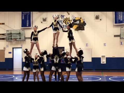 BRMS Cheerleading Competition
