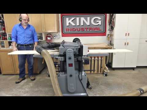 King Industrial Thickness Planers