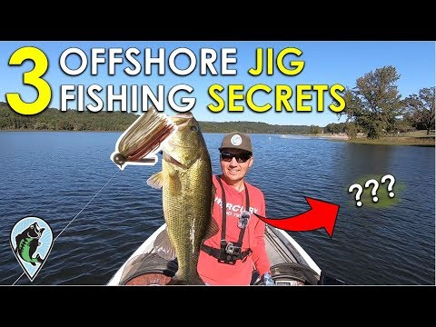 Why New Jig Fisherman Fail To Catch Bass | Offshore Jig Fishing