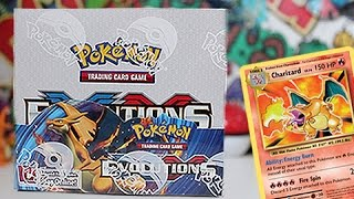 opening a evolutions booster box part 1