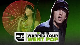 10 Times Warped Tour Went Pop