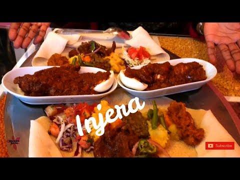 Ethiopian Food – Injera