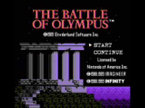 nes collections - battle of olympus - phthia