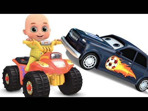 Surprise Eggs | Orange Monster Bike Toys for kids | Surprise egg Toys from Jugnu kids