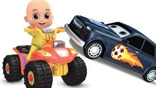 Surprise Eggs - Orange Monster Bike Toys for kids - Surprise egg Toys from Jugnu kids