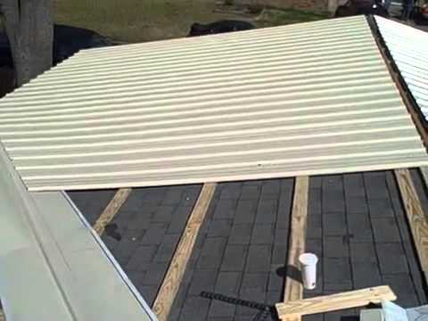 Good Metal Roofing Over Shingles Brandon Ms | 601 750 2274   YouTube