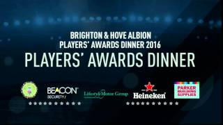 Players' Awards Dinner 2015/16 Live!