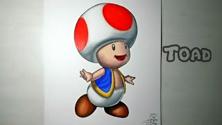 Drawing Toad (from Super Mario)