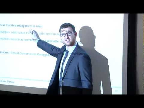 Martin Oehmke: Derivative Contracts in Bankruptcy