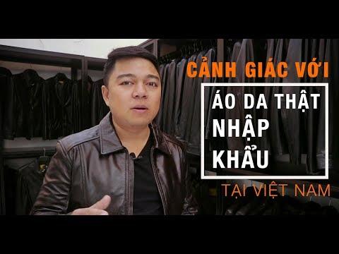 Cảnh giác với áo da nhập khẩu ở thị trường Việt Nam