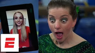 Laurie Hernandez, Simone Biles, more USA gymnasts surprise Special Olympics' 'Fab Five' | ESPN