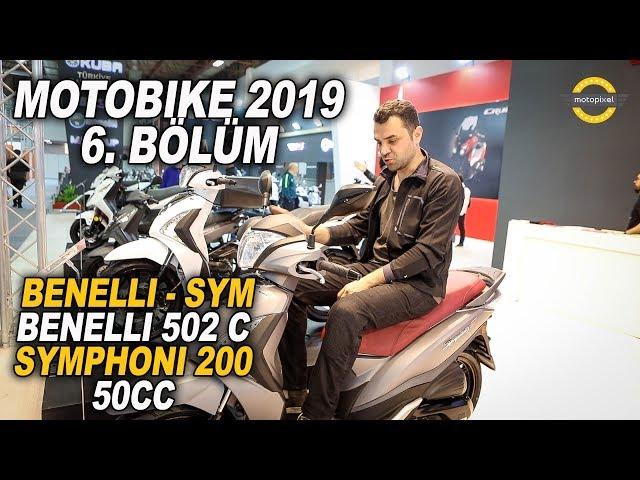 Motobike 2019 Benelli/Sym Standı