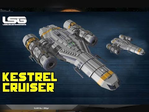 space engineers experimental kestral cruiser vanilla. Black Bedroom Furniture Sets. Home Design Ideas