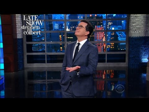 Stephen's Plea: 'Please Don't Take Sean Spicer From Us'