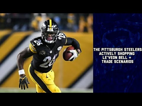 big sale 61df1 9faa5 The Pittsburgh Steelers Actively Shopping Le'Veon Bell & Trade Scenarios    NFL Latest Rumors