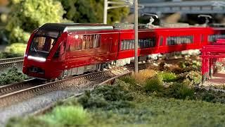 【Re-Color】Nゲージ 近鉄特急 80000系『ひのとり』21000系『アーバンライナーplus』 鉄道模型 Modelleisenbahn Model Railroad N-Gauge