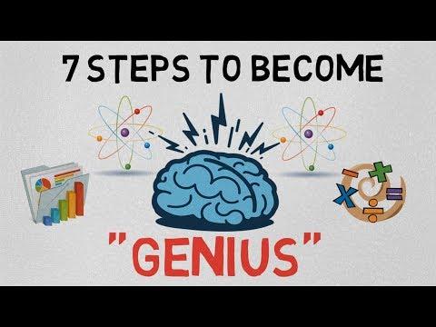 "7 STEPS TO BECOME A ""GENIUS"" (HINDI) - THINK LIKE DA VINCI book"