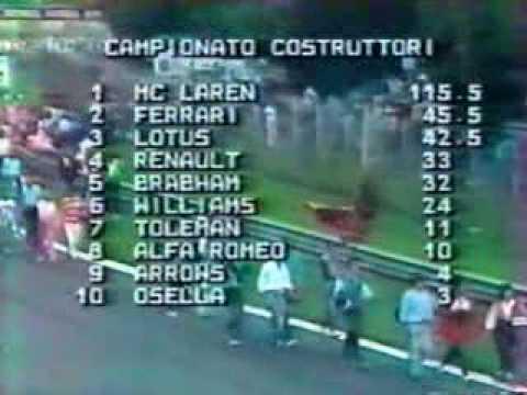 F1 GP Formula 1 1984 Italia Monza 9/10