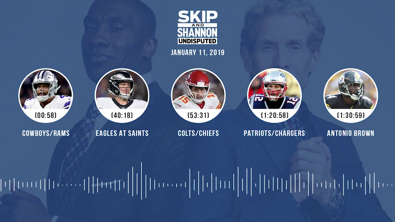 UNDISPUTED Audio Podcast (01.11.19) with Skip Bayless, Shannon Sharpe & Jenny Taft   UNDISPUTED