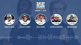 UNDISPUTED Audio Podcast (01.11.19) with Skip Bayless, Shannon Sharpe & Jenny Taft | UNDISPUTED