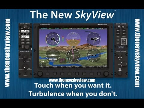 The New Dynon Skyview Touch
