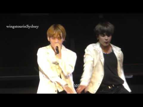 170526 BTS Sydney  Baepsae taehyung   focus