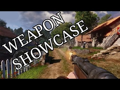Enemy Front - All Weapons Shown [Singleplayer Guns Only]