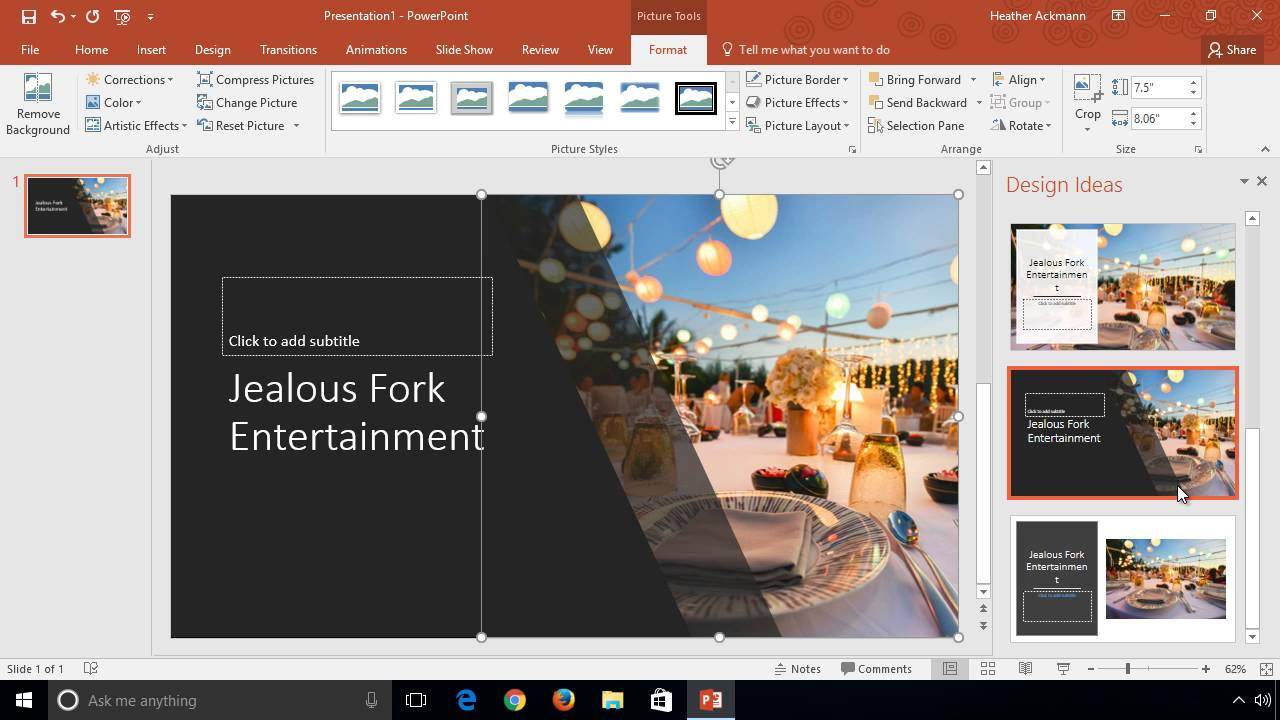 design slides faster with powerpoint designer youtube