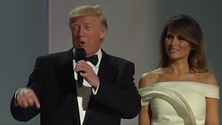 President Trump Remarks at First Inaugural Ball
