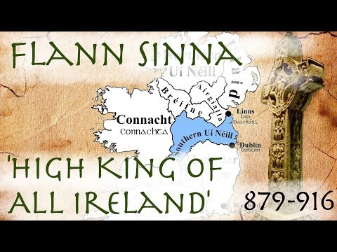 Flann Sinna: High King of Ireland (879-916)