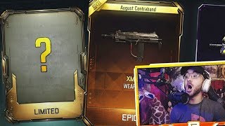 NEW AMAZING BO3 WEAPON!! (LUCKIEST BLACK OPS 3 SUPPLY DROP OPENING)
