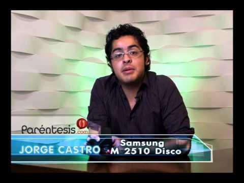 Samsung M2510 Disco