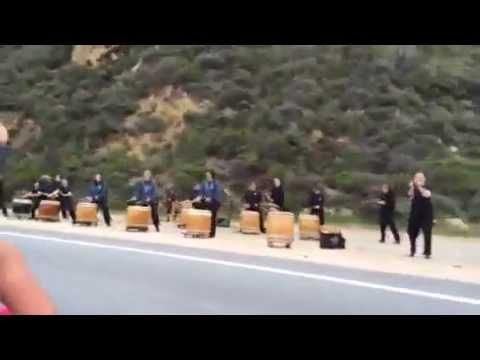 Drums at Big Sur Race