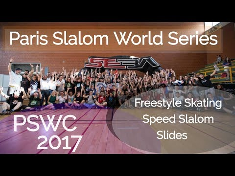Paris Slalom World Series 2017 (PSWC 2017) - Freestyle slalom on inline skates