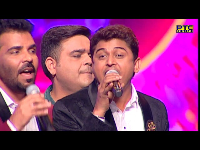 Master Saleem, Kanth Kaler & Feroz Khan singing Aaj Hona Deedar | Live | Voice Of Punjab Season 7