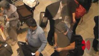 RAMMSTEIN  /  Aeropuerto / Hotel /  Estadio  /  Santiago  Chile HD